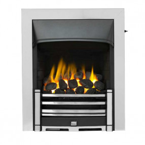Valor Trueflame Convector Clifton Fret (0594072) Chrome Trim