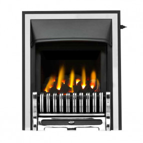 Valor Trueflame Convector Alton Fret (0594092) Chrome Half Trim