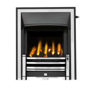 Valor Trueflame Convector Clifton Fret (0594092) Chrome Half Trim