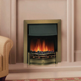 Dimplex Danesbury Electric Fire in Brass