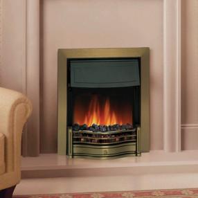 Dimplex Danesbury Electric Fire in Brass