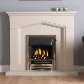 "Gallery Kendal 48"" Jurastone Fireplace Suite"