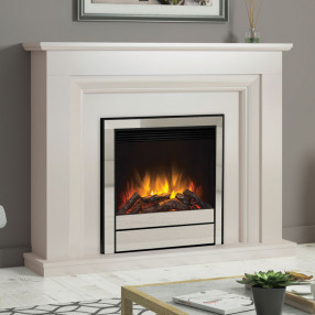 Elgin & Hall Amorina Deluxe Electric Fireplace Suite