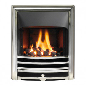Gallery Aurora Gas Fire, Chrome