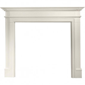 "Gallery Bartello 54"" Limestone Fireplace Surround"
