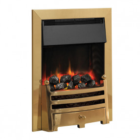 PureGlow Bauhaus Illusion Electric Fire