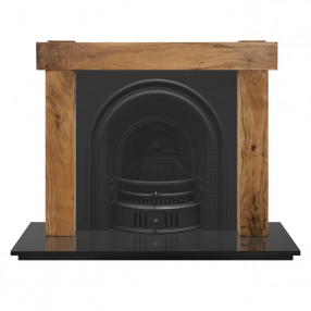 Carron New York Fireplace with Beckingham Cast Iron Arch
