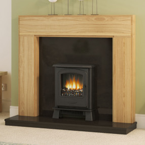 "Be Modern 52"" Whinfell Solid Oak Fireplace Suite"