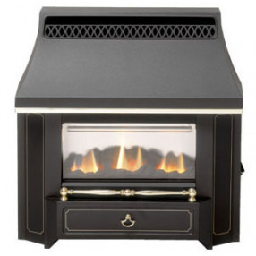Valor Black Beauty Outset Slimline Gas Fire (0534101)