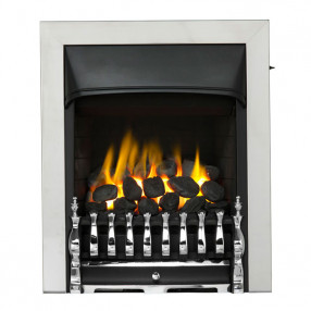 Valor Trueflame Convector Blenheim Fret (0594072) Chrome Trim