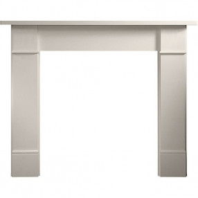 "Gallery Brompton 56"" Limestone Fireplace Surround"