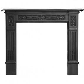 "Carron Albert 55"" Cast Iron Fireplace Surround"