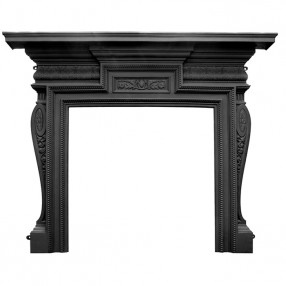 "Carron Knightsbridge 64"" Cast Iron Fireplace Surround"