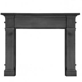 "Carron Somerset 59"" Cast Iron Fireplace Surround"