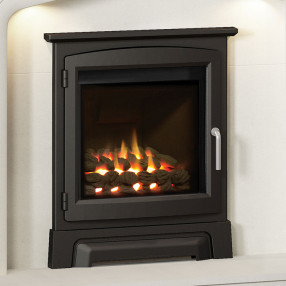"Elgin & Hall 16"" Cast Iron Stove Front Balanced Flue Gas Fire"