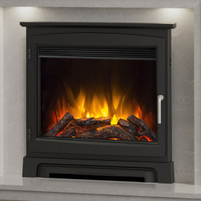 Elgin & Hall Chollerton Cast Stove Front Electric Fire