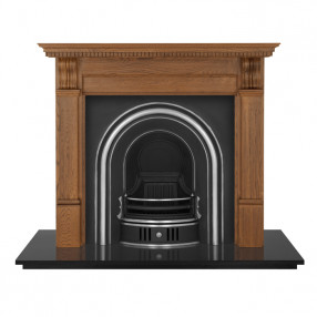 Carron Corbel Wooden Fireplace