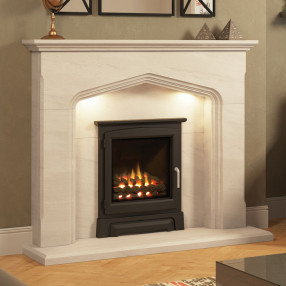 Elgin & Hall Colwyn Limestone Fireplace
