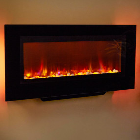 "Suncrest Santos 38"" Wall Mounted Electric Fire"