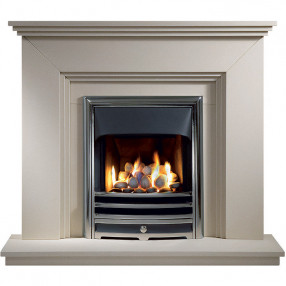 "Gallery Cranbourne 44"" Jurastone Fireplace Suite"