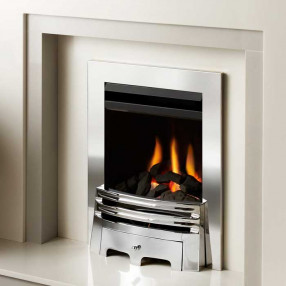 Crystal Montana Glass Fronted Gas Fire