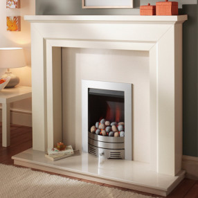 Crystal Slimline Contemporary Inset Gas Fire