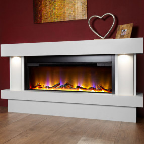 Celsi Electriflame VR Orbital Illumia Fireplace, Mist