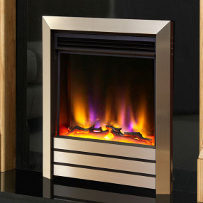 Celsi Electriflame VR Parrilla Electric Fire Champagne