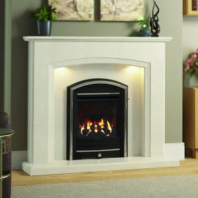 Elgin & Hall Eliana Marble Fireplace Suite