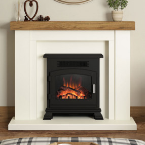 Elgin & Hall Bracken Electric Fireplace Suite