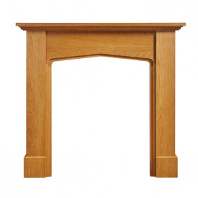"Ekofires 7030 Oak Veneer 48"" Fireplace Surround"