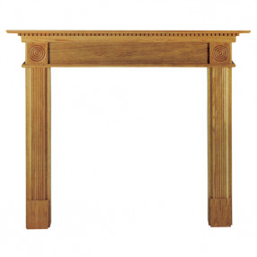 "Ekofires 7060 Oak Veneer 54"" Fireplace Surround"
