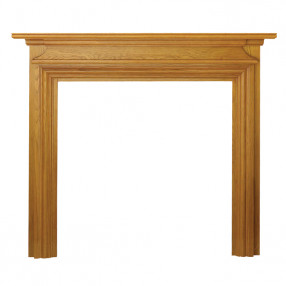 "Ekofires 7070 Oak Veneer 53"" Fireplace Surround"