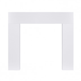 "Ekofires 7080 White Painted 46"" Fireplace Surround"
