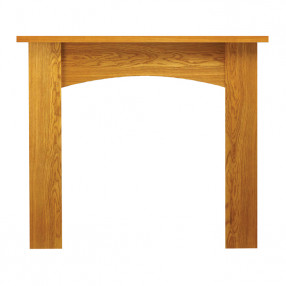 "Ekofires 7090 Oak Veneer 51"" Fireplace Surround"