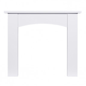 "Ekofires 7090 White Painted 51"" Fireplace Surround"