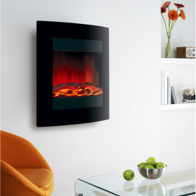 Ekofires 1011 Hang on the Wall Electric Fire
