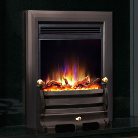 Celsi Electriflame XD Daisy Electric Fire, Black