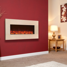 Celsi Electriflame Royal Botticino Electric Fire Roomset