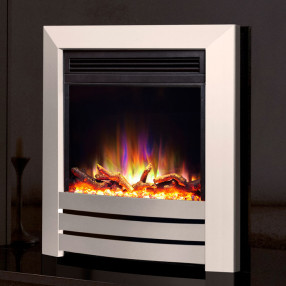 Celsi Electriflame XD Camber Electric Fire Silver
