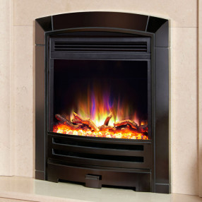 Celsi Electriflame XD Decadence Electric Fire, Black Nickel