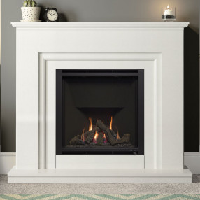 "Elgin & Hall Embleton 52"" Marble Gas Fireplace Suite"