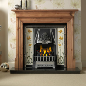 Gallery Danesbury Fireplace with Toulouse Higher Performance Tiled Insert