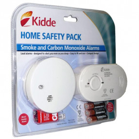 Kidde Home Safety Pack - Carbon Monoxide Alarm & Smoke Alarm