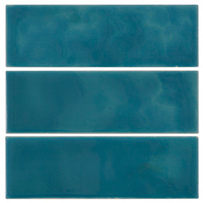 Carron Set of 6  Mid Blue Spacer Tiles - LGC057