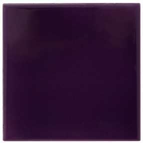 Carron Set of 10 Plain Purple Tiles - LGC072