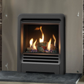 Gazco Logic HE Inset Gas Fire with Beat Frame