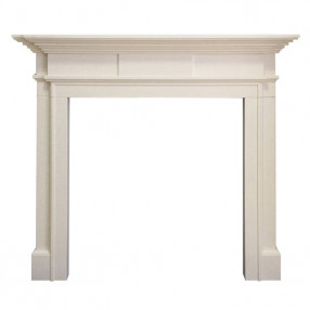 "Gallery Milbrooke 56"" Agean Limestone Fireplace Surround"