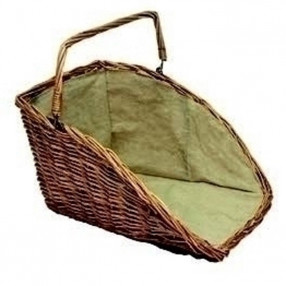 Natural High Backed Log Basket