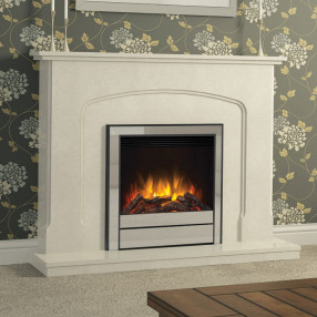 Newham Deluxe electric fireplace suite